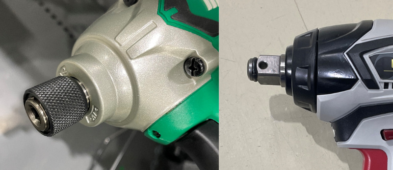 電動工具のインパクトドライバーとインパクトレンチの違いについて!